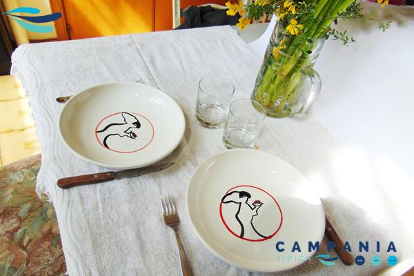 Piatto Fondo Pasta Pulcinella Ceramics